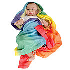 Silk Rainbow Blanket
