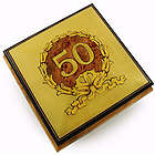30 Note 50th Anniversary Music Box