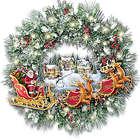 Light Up Christmas Wreath