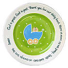 Baby Carriage Baby Plate