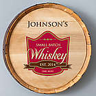 Oak Aged Whiskey Barrel Sign