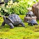 Tortoise Family Resin Garden Statues