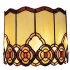 Battery Operated Tiffany Style Glass Wall Sconce