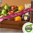 Fruit and Snacks Box with Thank You Ribbon