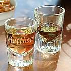 Personalized Fluted Shot Glasses
