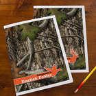 Tree Camo Personalized Folders