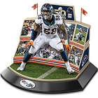 Super Bowl 50 Sculpture with Von Miller in Denver Broncos Stadium