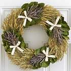 "18"" Love and Lavender Wreath"