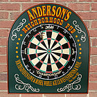 Personalized Neighborhood Pub Dartboard Sign