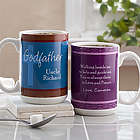 To My Godparents Personalized 15-Ounce Mug