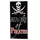 Pirate Door Cover Party Decoration