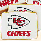 NFL Kansas City Chiefs Cookies