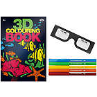 3D Coloring Book and Markers