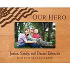 Our Hero Personalized Picture Frame