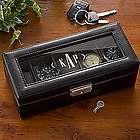 Monogram Leather Watch Box