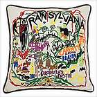 Hand Embroidered Transylvania Pillow