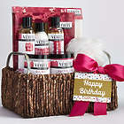 She's Fabulous! Happy Birthday Spa Gift Basket