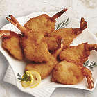 1 Pound Lightly Breaded Jumbo Fantail Shrimp
