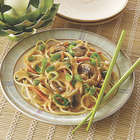Thai Noodles in Curry Sauce Meal