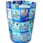 Clean Blue Recycled Wrapper Laundry Basket