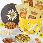 Life's Bee-Autiful Snacks Hat Box with Just Bee-Cause Tag