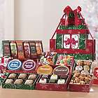 Christmas Food in Festive Gift Tower