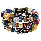 Ghana African Festival Coil Bracelet