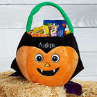 Personalized Plush Dracula Halloween Treat Bag
