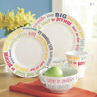 Follow Your Bliss Dinnerware Set