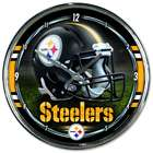 Pittsburgh Steelers Chrome Plated Clock