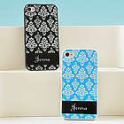 Personalized Damask iPhone Case