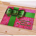 Personalized Christmas Gift Doormat