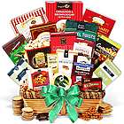 Gourmet Popcorn, Cookies and More Holiday Gift Basket