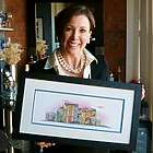 2 Building Street Personalized Framed Art Print for Any Occasion