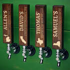 Personalized Well-Crafted Home State Tap Handles
