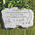 A Beautiful Soul Memorial Stone