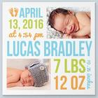 Personalized Bundle of Love Custom Photo Canvas Print