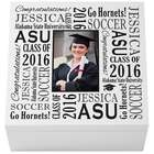 Personalized Treasured Memories Graduation Trinket Box