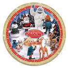 Rudolph the Red-Nosed Reindeer Heirloom Porcelain Collector Plate