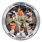 Houston Astros 2017 World Series Commemorative Plate
