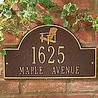 Adirondack Address Plaque