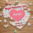 Sweet Affections Candy Heart Puzzle