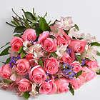 Premium Pink Sapphire Rose Bouquet