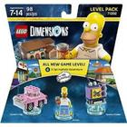 The Simpsons LEGO Dimensions Building Set