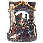 Peaceful Baby Jesus Nativity Scene