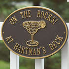 Margarita Party Time Hawthorne Deck Plaque