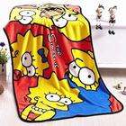 The Simpsons Family Throw Blanket