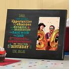 Personalized I Hope You Have Birthday Wishes Picture Frame