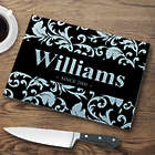 Personalized Family Name and Established Date Cutting Board