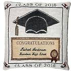 Personalized 2016 Graduation Pillow